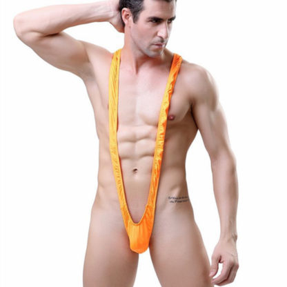 "Men's Sexy ""Borat Style"" Mankini Thongs All Products - Underwear & Thongs For Men"