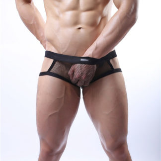 Gay Men Underwear – Men's Transparent Thongs. Black or white All Products - Underwear & Thongs For Men