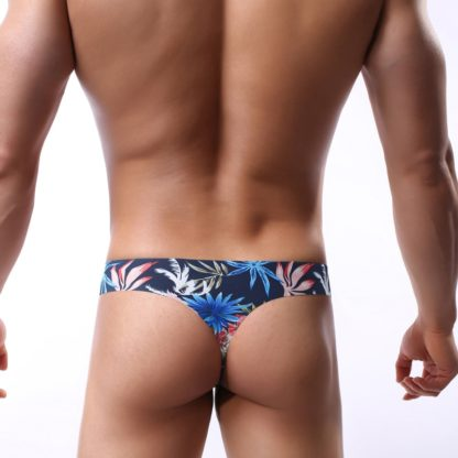 Silk Printed Tropic Canvas Underwear All Products - Underwear & Thongs For Men
