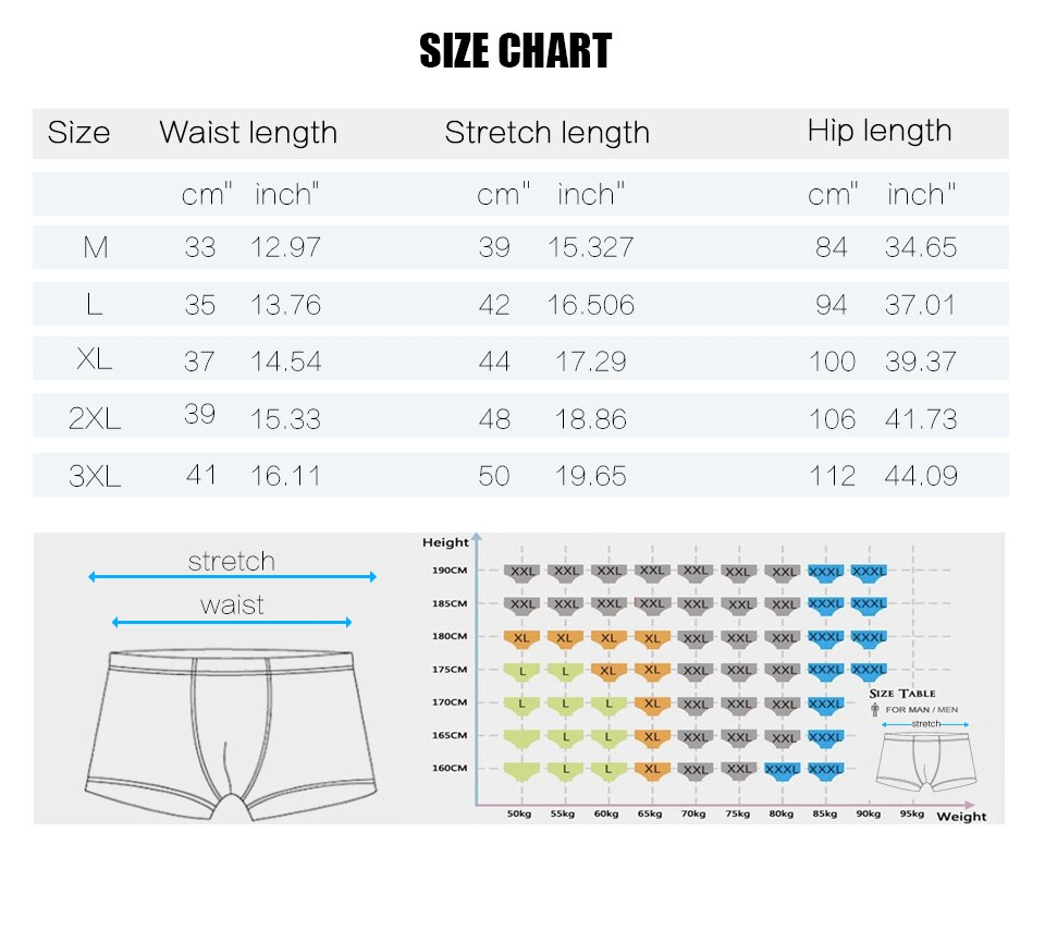 Breathable Sporty And Sexy Underwear