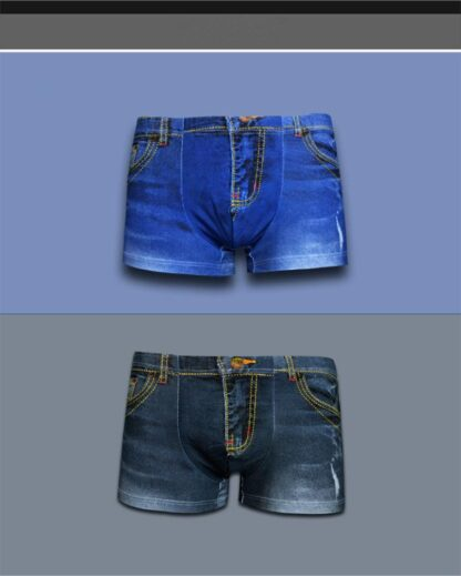 Mens Jeans Styled Boxers Shorts All Products - Underwear & Thongs For Men