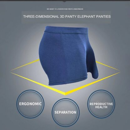 Mens Boxers With Penis Pouch, 4 pcs. set All Products - Underwear & Thongs For Men