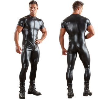 Sexy PU Leather Bodysuit / Costume For Men All Products - Underwear & Thongs For Men