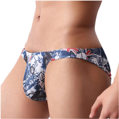 Gay Men's Ultra Low-Rise Underpants With Different Printed Patterns All Products - Underwear & Thongs For Men
