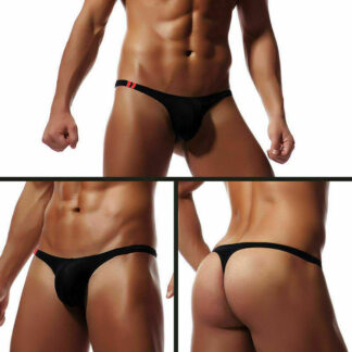 Men's Ultra Light Thongs With Penis Pouch All Products - Underwear & Thongs For Men