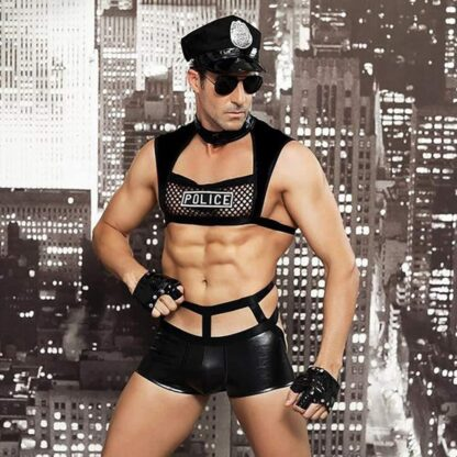 Gay Men's Policeman Role Play Costume All Products - Underwear & Thongs For Men