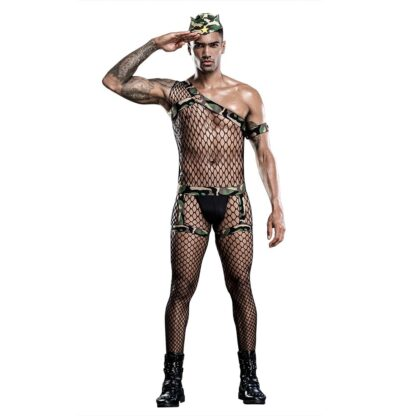 Men's Army / Soldier Role Play Costume All Products - Underwear & Thongs For Men